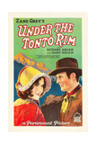 UNDER THE TONTO RIM  from left: Mary Brian  Richard Arlen  1928