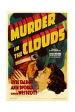 MURDER IN THE CLOUDS  from left: Lyle Talbot  Ann Dvorak  1934