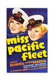 MISS PACIFIC FLEET  US poster art  from left: Glenda Farrell  Joan Blondell  1935