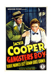 GANGSTER'S BOY  US poster art  foreground from left: Robert Warwick  Jackie Cooper  1938