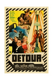 DETOUR  Tom Neal  Claudia Drake  Ann Savage  1945