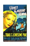 THE TRAIL OF THE LONESOME PINE  Sylvia Sidney  Fred MacMurray  Henry Fonda  1936