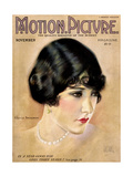 Gloria Swanson  on the cover of Motion Picture Magazine  November 1923