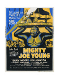 MIGHTY JOE YOUNG  US poster  from top: Terry Moore  Mighty Joe Young  1949