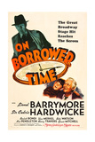ON BORROWED TIME  Cedric Hardwicke  Bobs Watson  Lionel Barrymore  1939