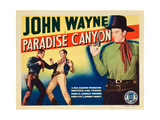 PARADISE CANYON  bottom left and top right: John Wayne on title card  1935