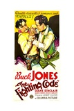 THE FIGHTING CODE  Buck Jones  1933