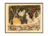 THE LOST WORLD  l-r: Lloyd Hughes  Bessie Love on lobbycard  1925