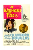 A WOMAN'S FACE  from left: Joan Crawford  Melvyn Douglas  1941