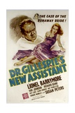 DR GILLESPIE'S NEW ASSISTANT  from left: Lionel Barrymore  Susan Peters  1942