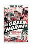 THE GREEN HORNET  US poster  'Chapter 8: Dead or Alive'  1940