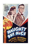 NAUGHTY BUT NICE  US poster art  from left: Ann Sheridan  Dick Powell  1939