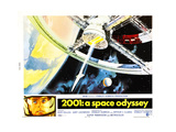 2001: A SPACE ODYSSEY  US lobbycard  bottom left: Keir Dullea  1968