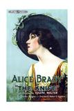 THE KNIFE  Alice Brady on 1-sheet poster art  1918