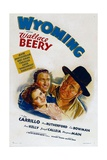 WYOMING  from left: Ann Rutherford  Leo Carrillo  Wallace Beery  1940