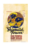 SHIPMATES FOREVER  US poster art  from left: Dick Powell  Ruby Keeler  1935