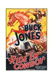 RIDE 'EM COWBOY  top: Buck Jones  1936