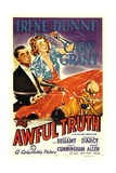 THE AWFUL TRUTH  Cary Grant  Irene Dunne  1937