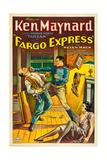 FARGO EXPRESS  right: Ken Maynard  1933