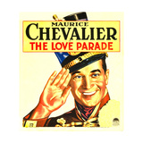 LOVE PARADE  THE  Maurice Chevalier on window card  1929