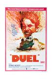 DUEL  Australian poster  Dennis Weaver  1971