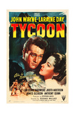 TYCOON  from left: John Wayne  Laraine Day  1947