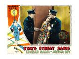 STATE STREET SADIE  center: Myrna Loy on lobbycard  1928