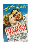 INVITATION TO HAPPINESS  US poster art  from left: Irene Dunne  Fred MacMurray  1939