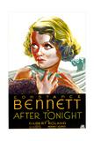 AFTER TONIGHT  US poster art  Constance Bennett  1933