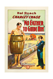 NO FATHER TO GUIDE HIM  left: Charley Chase  1925