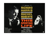 THIS SPORTING LIFE  US lobbycard  from left: Richard Harris  Rachel Roberts  1963