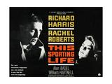 THIS SPORTING LIFE  US lobbycard  from left: Richard Harris  Rachel Roberts  1963