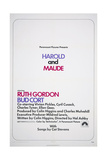 HAROLD AND MAUDE  US poster  1971