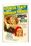 DR JEKYLL AND MR HYDE  Spencer Tracy  Lana Turner  Ingrid Bergman  1941