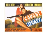 CAUGHT IN THE DRAFT  from left: Dorothy Lamour  Bob Hope  1941