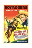 HEART OF THE GOLDEN WEST  Roy Rogers  1942