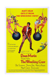 THE WRECKING CREW  US poster  Dean Martin  1969
