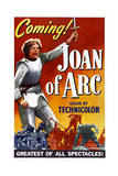 JOAN OF ARC  US poster  Ingrid Bergman  1948