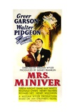 MRS MINIVER  from left: Greer Garson  Walter Pidgeon  1942