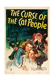 THE CURSE OF THE CAT PEOPLE  Simone Simon  Ann Carter  Julia Dean  1944