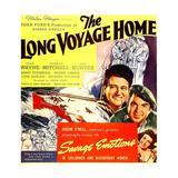 THE LONG VOYAGE HOME  John Wayne  Thomas Mitchell  Rafaela Ottiano  1940