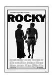 ROCKY  l-r: Talia Shire  Sylvester Stallone  1976