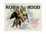 THE ADVENTURES OF ROBIN HOOD  from left: Errol Flynn  Olivia DeHavilland  1938