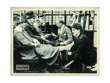 THE FLOORWALKER  right: Charlie Chaplin on lobbycard  1916