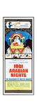 1001 ARABIAN NIGHTS  top: Mr Magoo (voice: Jim Backus) on insert poster  1959