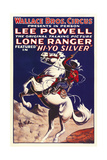 THE LONE RANGER  special circus poster  1938