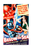 BELOW THE SEA  US poster art  Fay Wray  1933