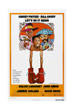 LET'S DO IT AGAIN  US poster  from left: John Amos  Jimmie Walker  Bill Cosby  1975