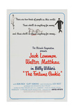 THE FORTUNE COOKIE  US poster  from left: Judi West  Jack Lemmon  Walter Matthau  1966