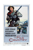 THE FAR COUNTRY  US poster  James Stewart  Ruth Roman  1954
